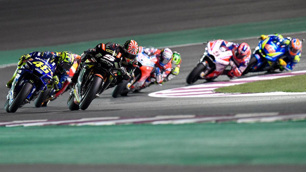 Qatar MotoGP track
