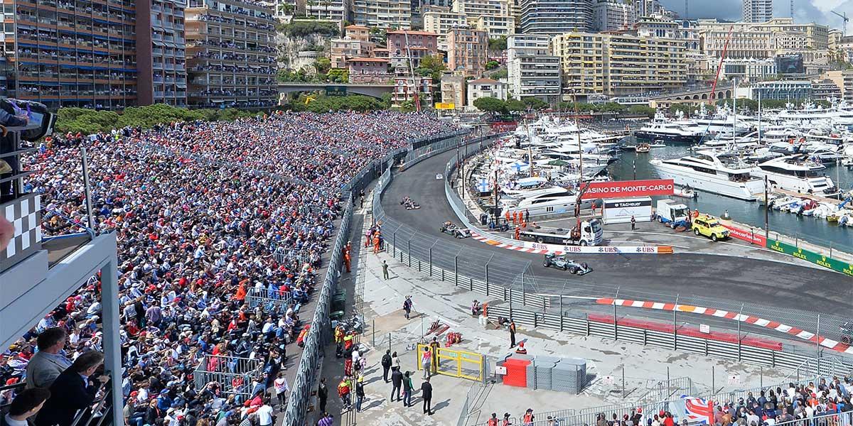 Monaco F1 track