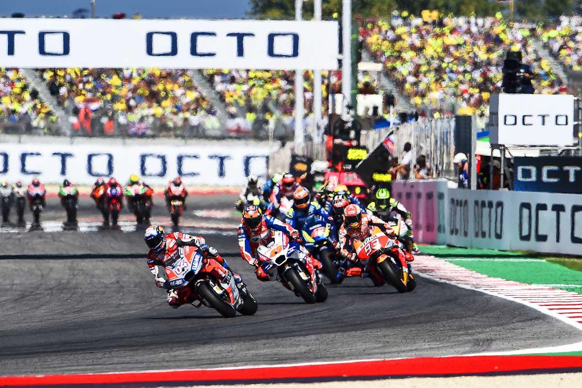 San Marino MotoGP track
