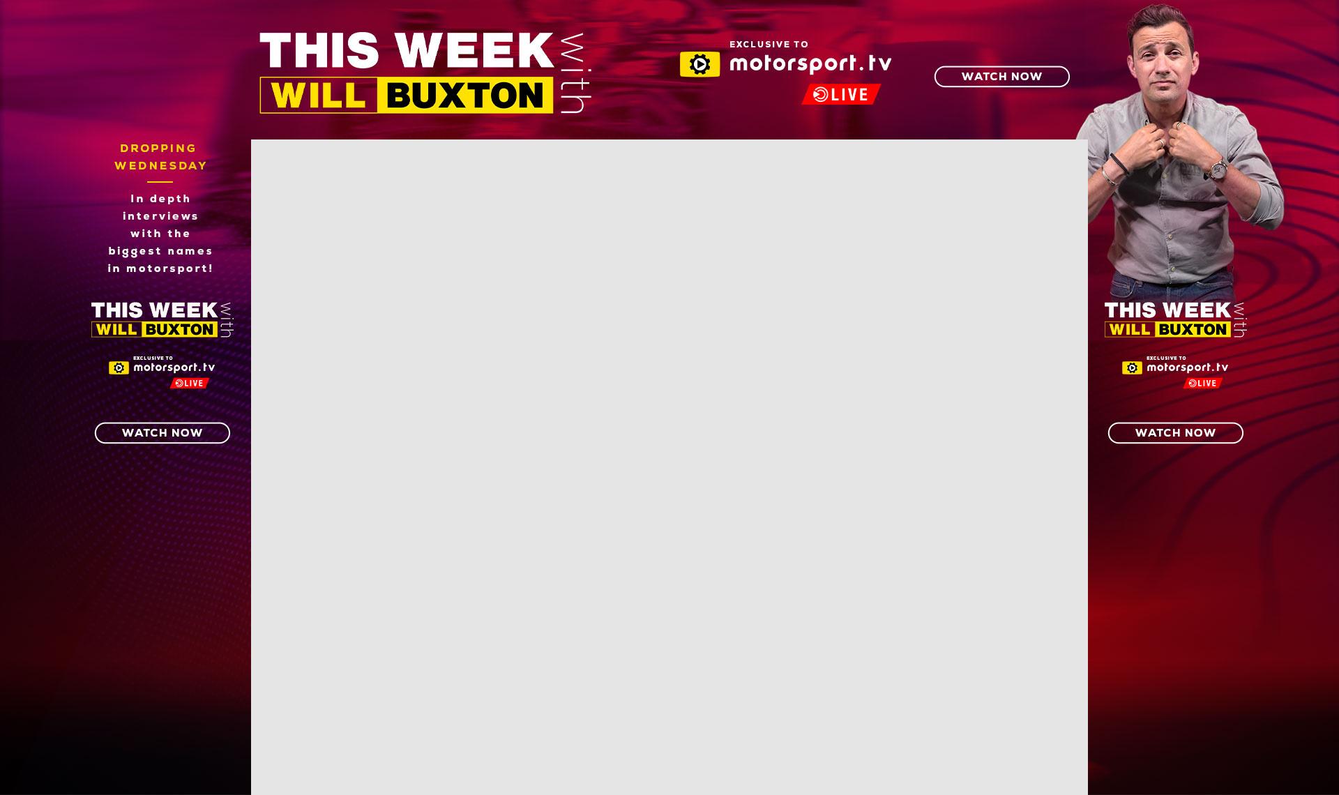 This Week, Motorsport.tv Live,
