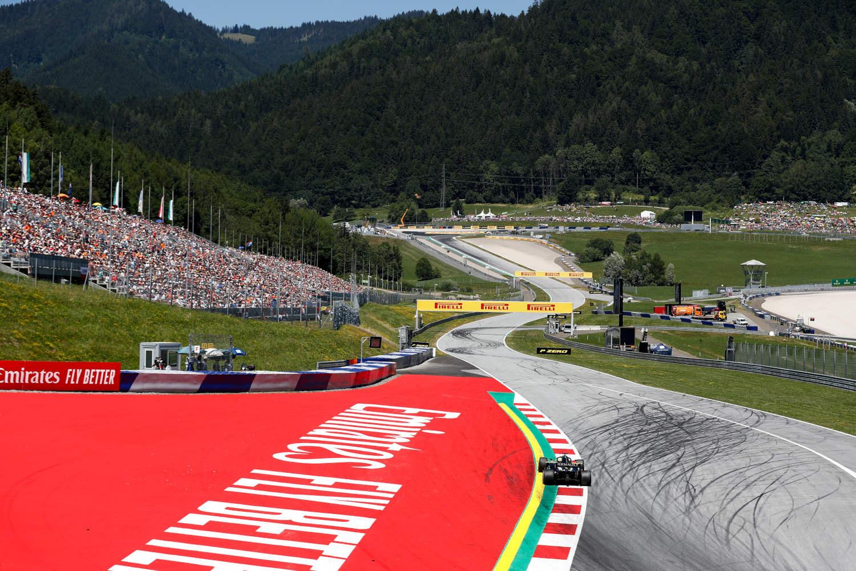 Austria F1 circuit