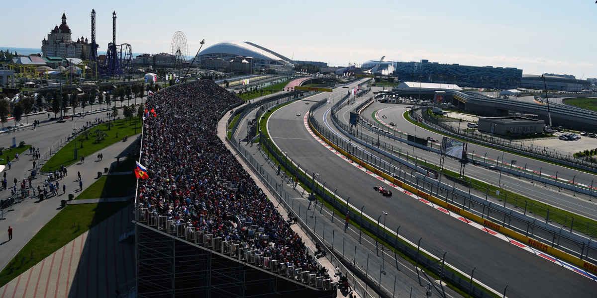 Russia F1 circuit